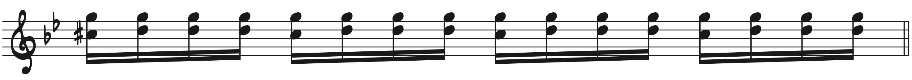 16th Note Rock Piano Improv