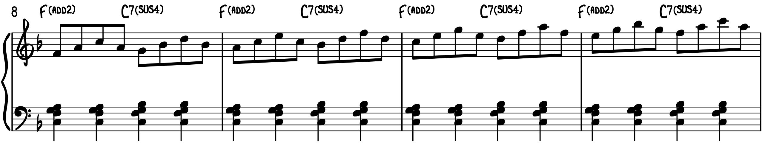 #2 Triad Skip Technique
