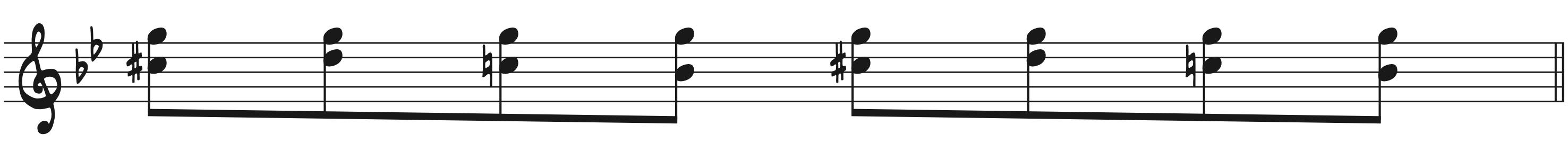 8th Note Rock Piano Improv
