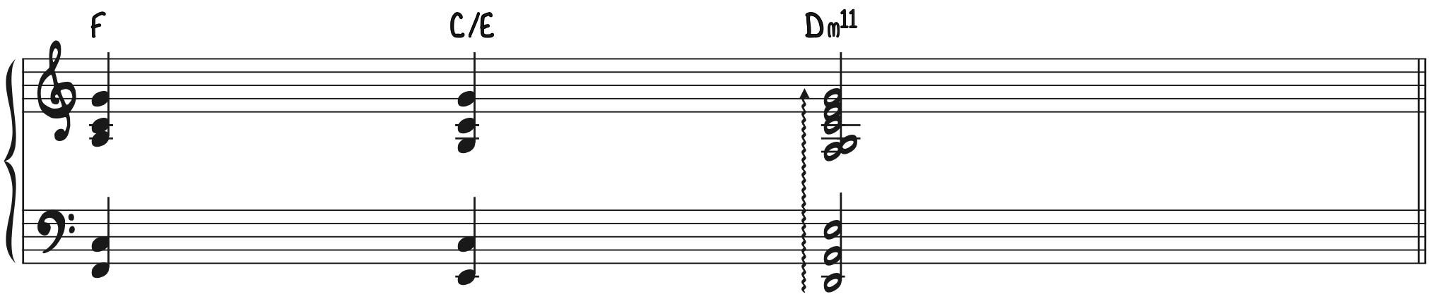 Progression 2 - Transformed Beautiful Minor 11 Chord Dm11