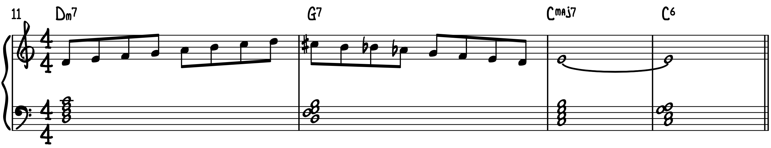 Connecting Dominant Diminished Scale Exercise 1