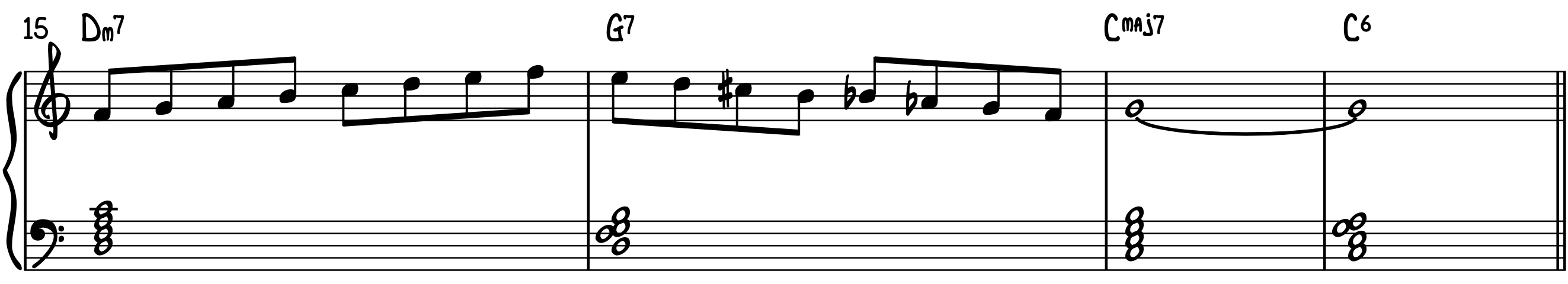 Connecting Scale Exercise 2 Jazz Piano Improv Intermediate Advanced