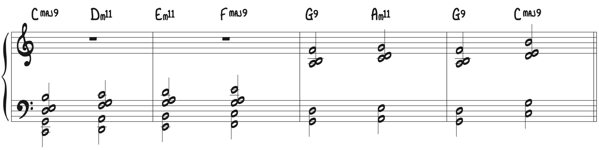 Magic Chord Exercise 8vb