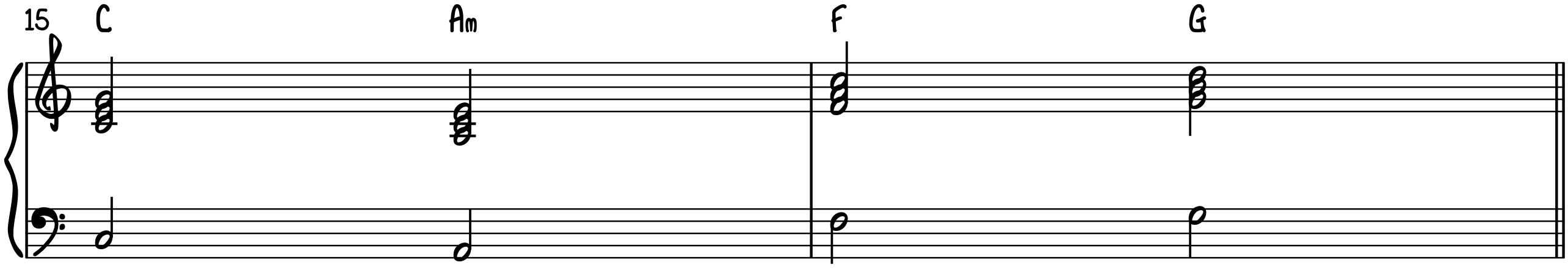 Progression 2 Standard Triads