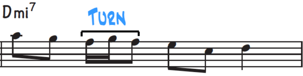 Improvisation Technique #4, the turn technique