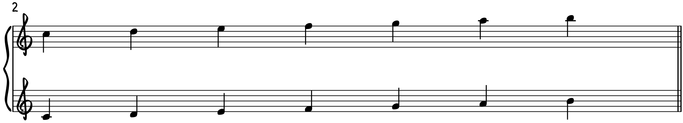 Step 2-Double the Melody 8vb block chords