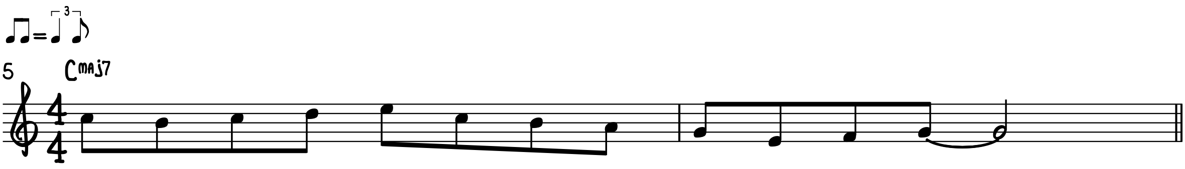 Step 5-Single-Note Melody